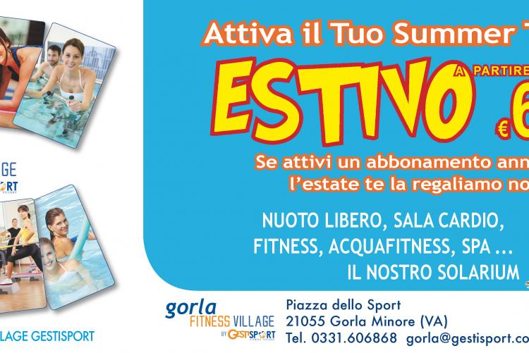 estate con noi summer card gorla fitness village
